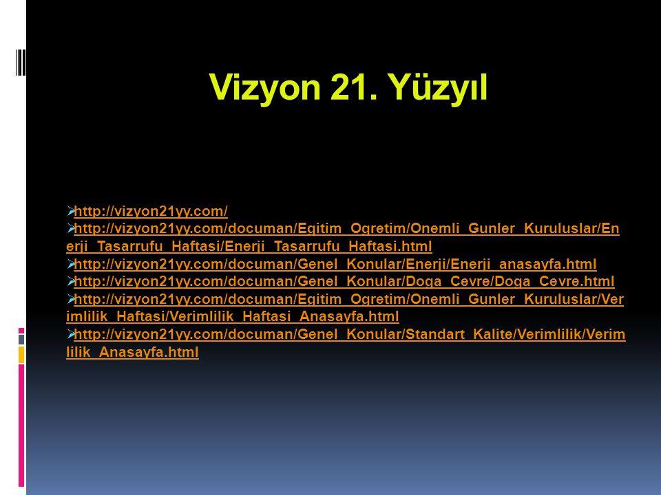 Vizyon 21.