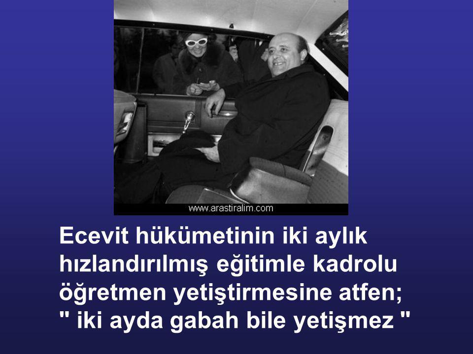 Darbeden yıllar sonra Demirel ekonomiyi 500 günde düzelteceğini vaat ederek tekrar başbakan olur. tabi ekonominin düzeldiği falan yok. CHP'li yada DSP