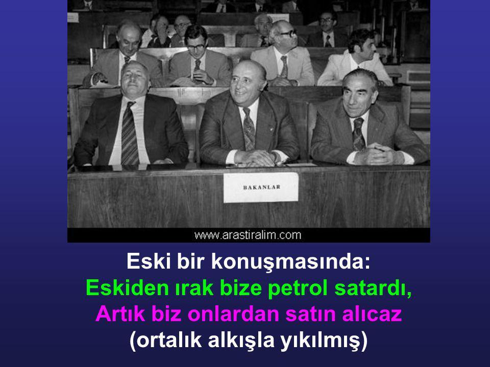 Türk felsefe tarihine geçen şu lafı unutulmaz :
