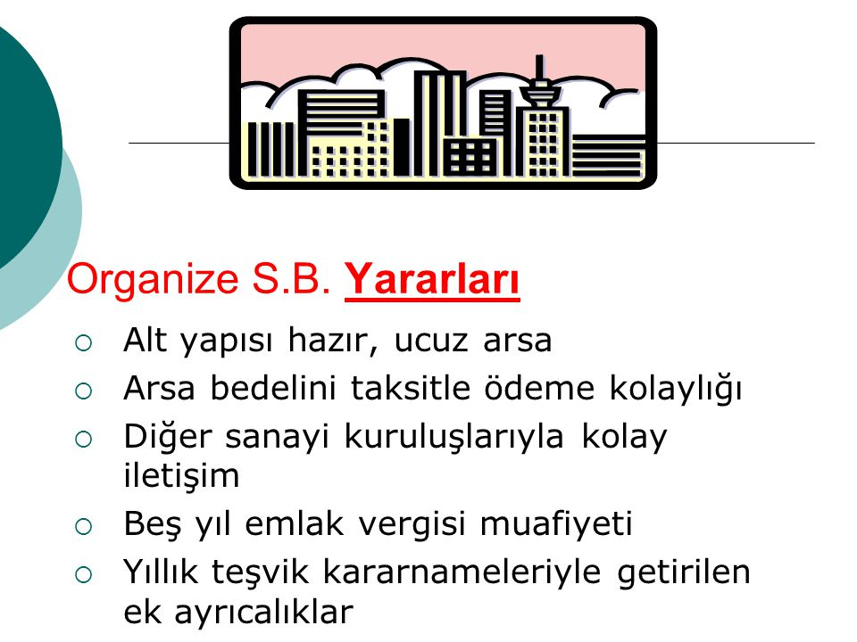 Organize S.B.
