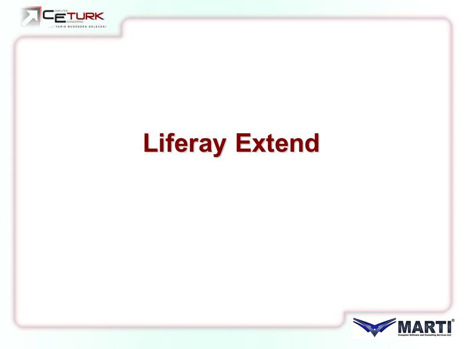 Liferay Extend