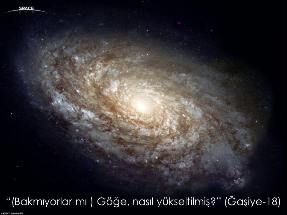 """""""(Bakmıyorlar mı ) Göğe, nasıl yükseltilmiş?"""" (Ğaşiye-18)"""