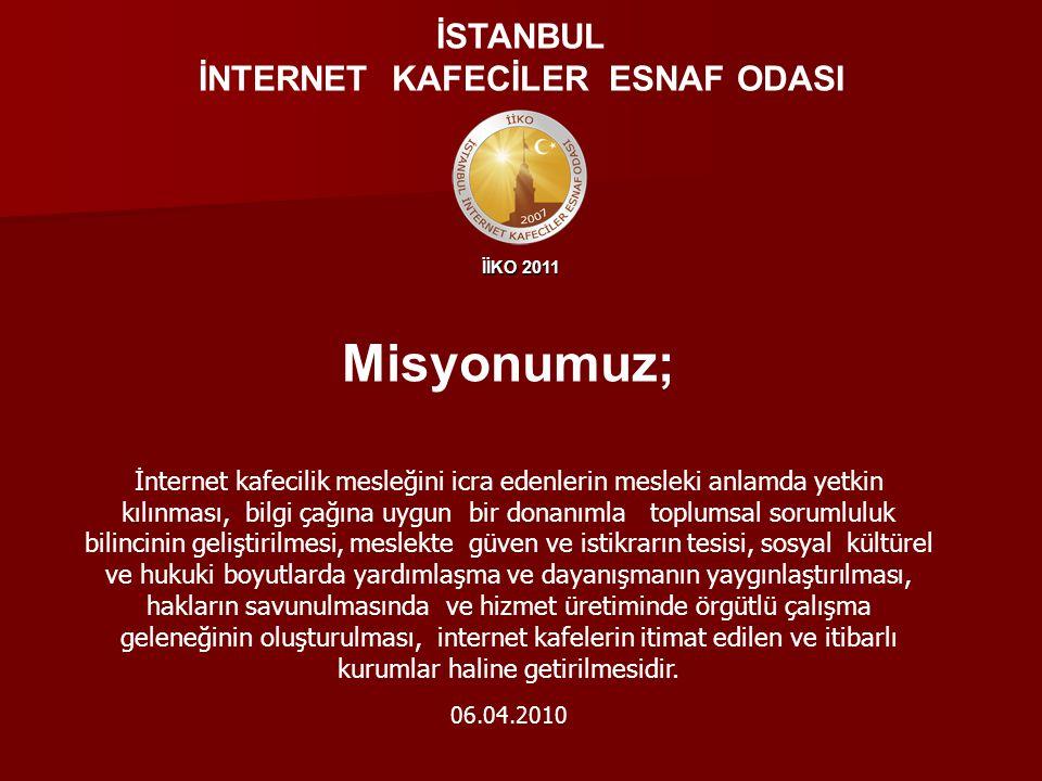 İİKO 2011 GÜVENLİ WEBFİLTRE Pro V3.0 TIB PROJESİ İSTANBUL İNTERNET KAFECİLER ESNAF ODASI İstanbul İnternet Kafeciler Esnaf Oda'sı Başkanlığı Güvenli WebFiltre Projesine destek veren tüm kamu kurum ve kuruluşları ile birlikte Sivil Toplum Kuruluşlarına, Üniversitelere, özel kuruluşlara ve duyarlı vatandaşlarımıza teşekkürlerini sunar.
