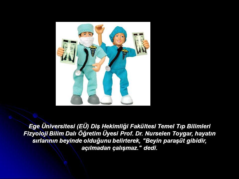 Ege Üniversitesi (EÜ) Diş Hekimliği Fakültesi Temel Tıp Bilimleri Fizyoloji Bilim Dalı Öğretim Üyesi Prof. Dr. Nurselen Toygar, hayatın sırlarının bey