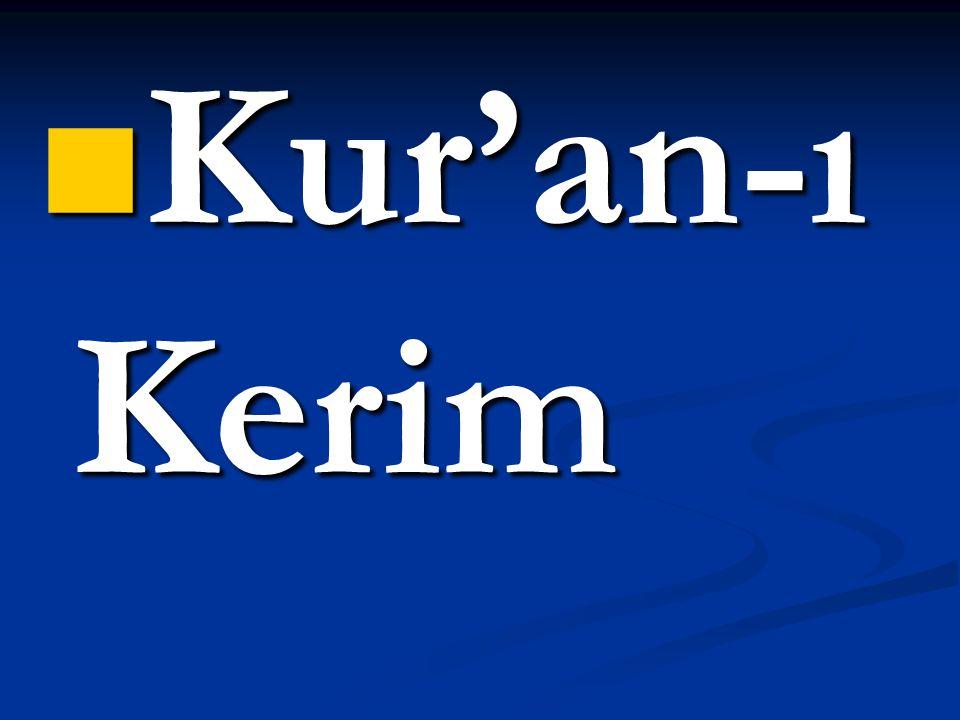 İlaçların en hayırlısı Kur'an'dır.