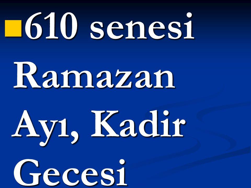 Kur'an'ın, ilk olarak hangi ayetleri indirilmiştir?