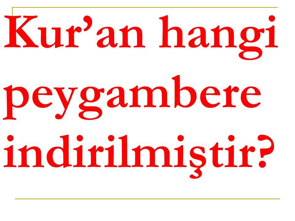  Hz. Muhammed (asm)