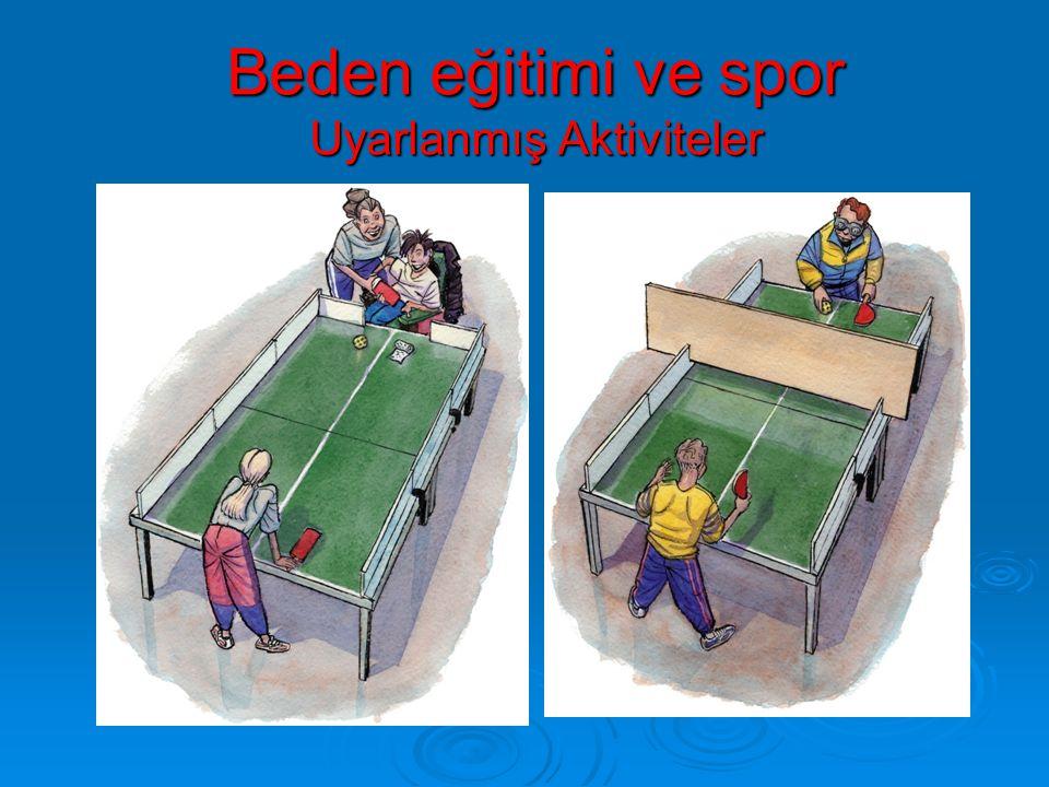 Beden eğitimi ve spor Uyarlanmış Aktiviteler