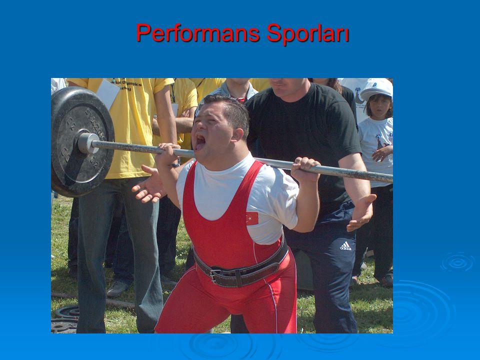 Performans Sporları Performans Sporları
