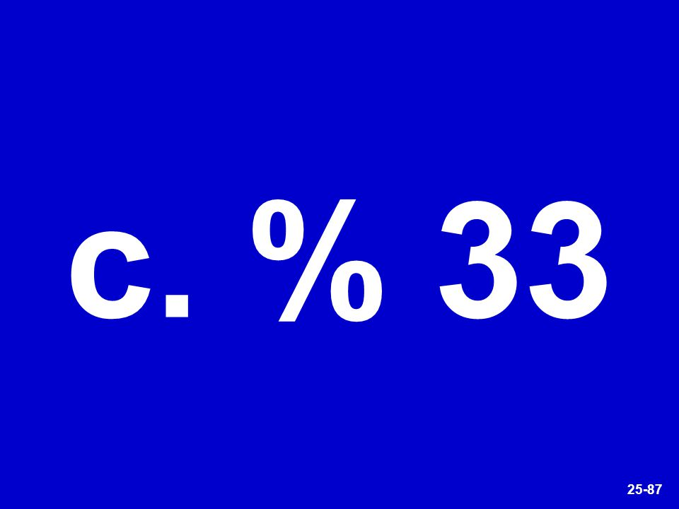 25-87 c. % 33