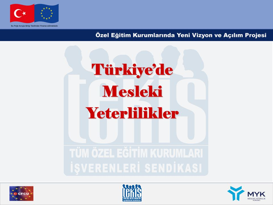 TÜRKİYE'DEDURUM