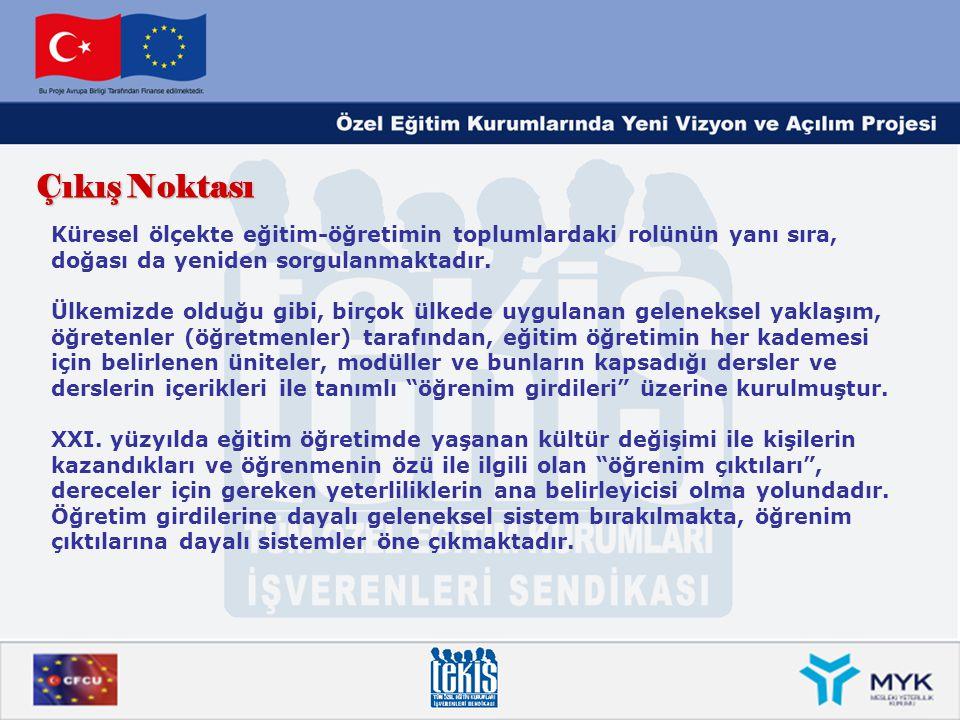 Tarihçe Türkiye de İş ve İşçi Bulma Kurumunun (Türkiye İş Kurumu - İŞKUR) koordinasyonunda Meslek Standartları Komisyonu (MSK) kurulmuştur.