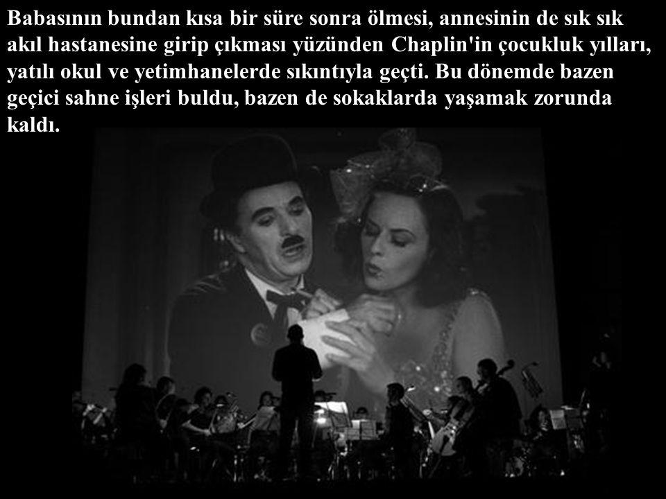 İngiliz sinema oyuncusu ve yönetmeni Charlie Chaplin (asıl adı Charles Spencer Chaplin), 16 Nisan 1889'da İngiltere'nin başkenti Londra'da dünyaya gel