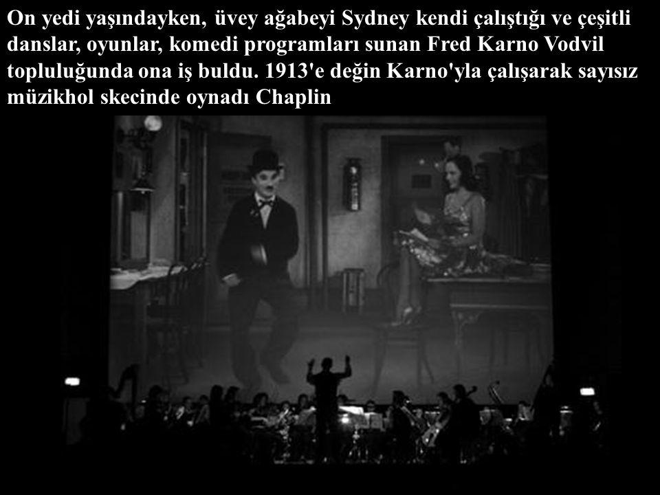 Babasının bundan kısa bir süre sonra ölmesi, annesinin de sık sık akıl hastanesine girip çıkması yüzünden Chaplin'in çocukluk yılları, yatılı okul ve