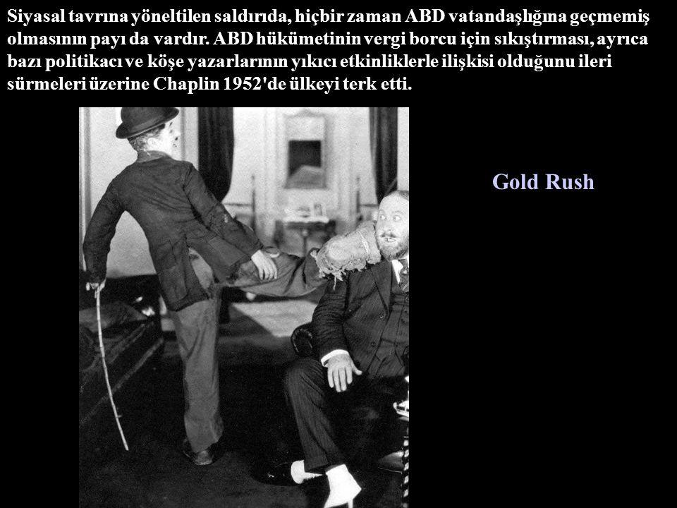 Chaplin'in çok hareketli bir özel yaşamı oldu. Dört evliliğinin üçünü filmlerinin başrol oyuncularıyla gerçekleştirdi City Lights