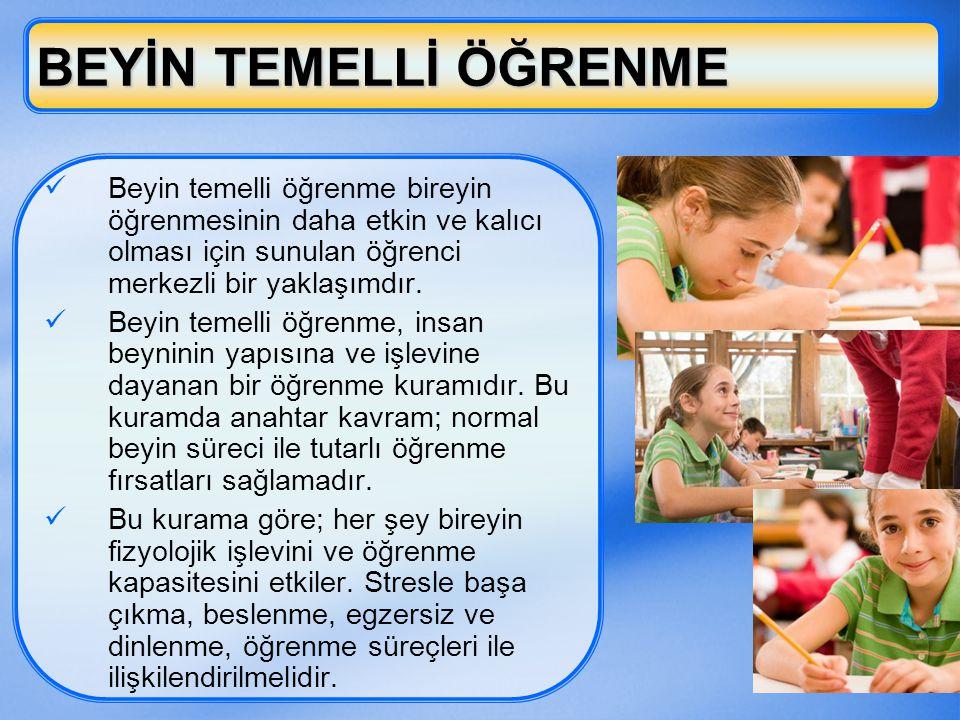 10 AKTİF(ETKİN) ÖĞRENME  Etkin eğitim, öğrenmeyi öğrenme amaçlı eğitimdir.