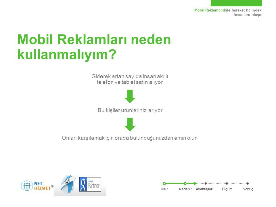 Mobil Reklamcılıkile hareket halindeki insanlara ulaşın Mobil Reklamları kullanmanın avantajları nelerdir.