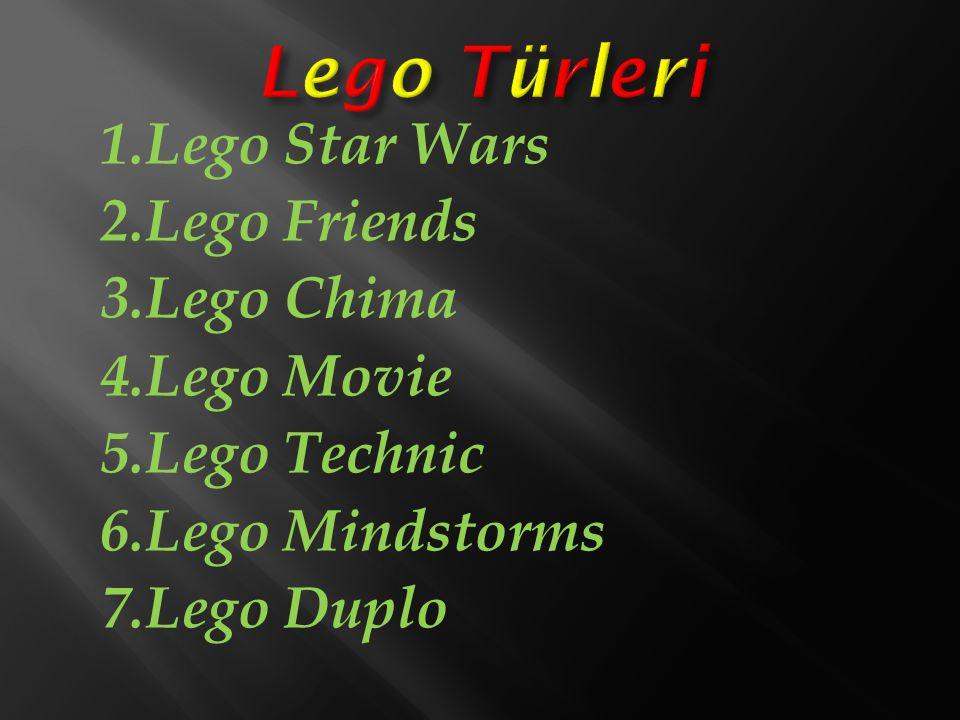 İyi lego yapmak için en önemli unsurlar: 1.Geniş hayal gücü.