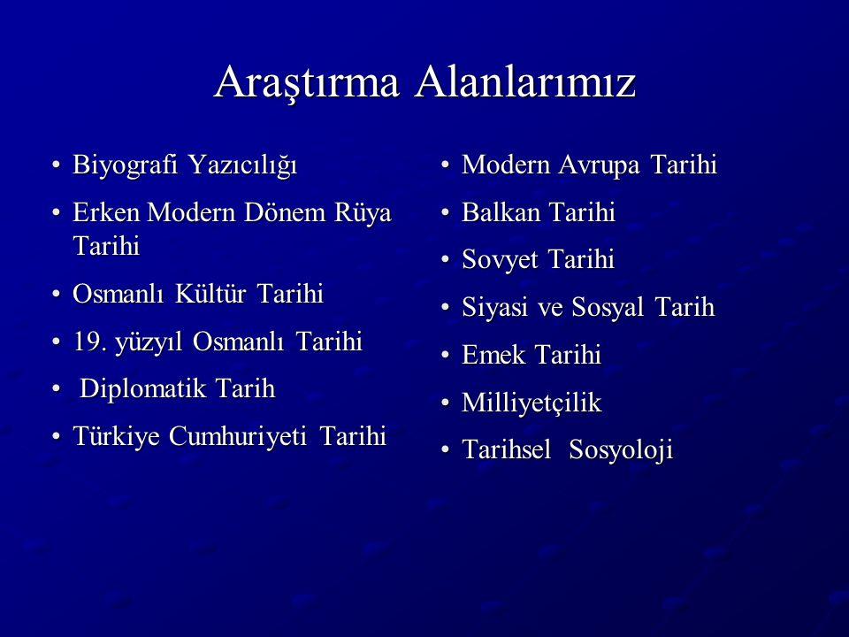 Öğretim Üyelerimizin Çalışma Alanlarından Bir Örnek Osmanlı Rüya Aynasında Neler Görüyoruz.