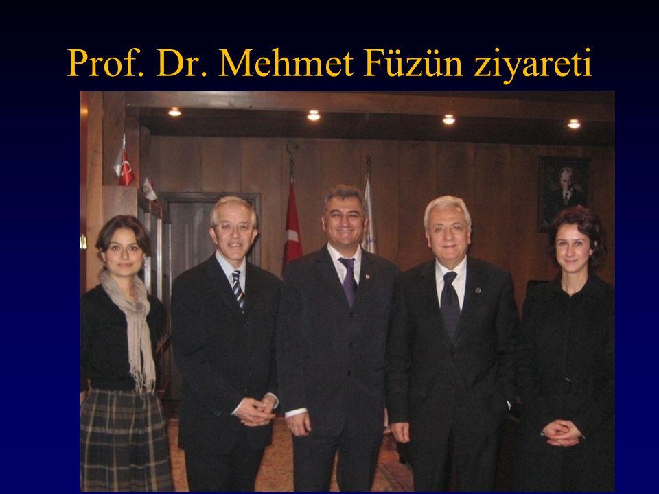 http://www.hiasd.org 2011 Prof. Dr. Mehmet Füzün ziyareti