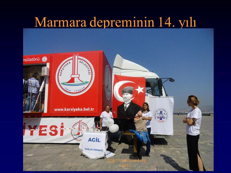 Marmara depreminin 14. yılı http://www.hiasd.org 2011