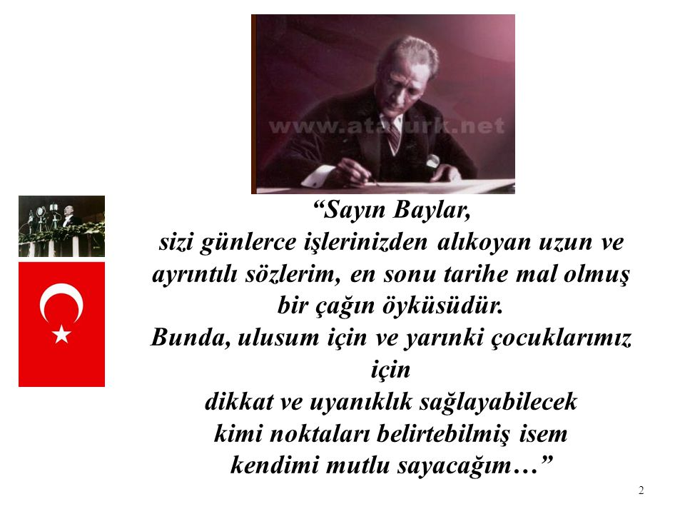 3 Gazi Mustafa Kemal 80 yıl önce, 15 Ekim 1927 Cuma günü toplanan Cumhuriyet Halk Partisi'nin 2.