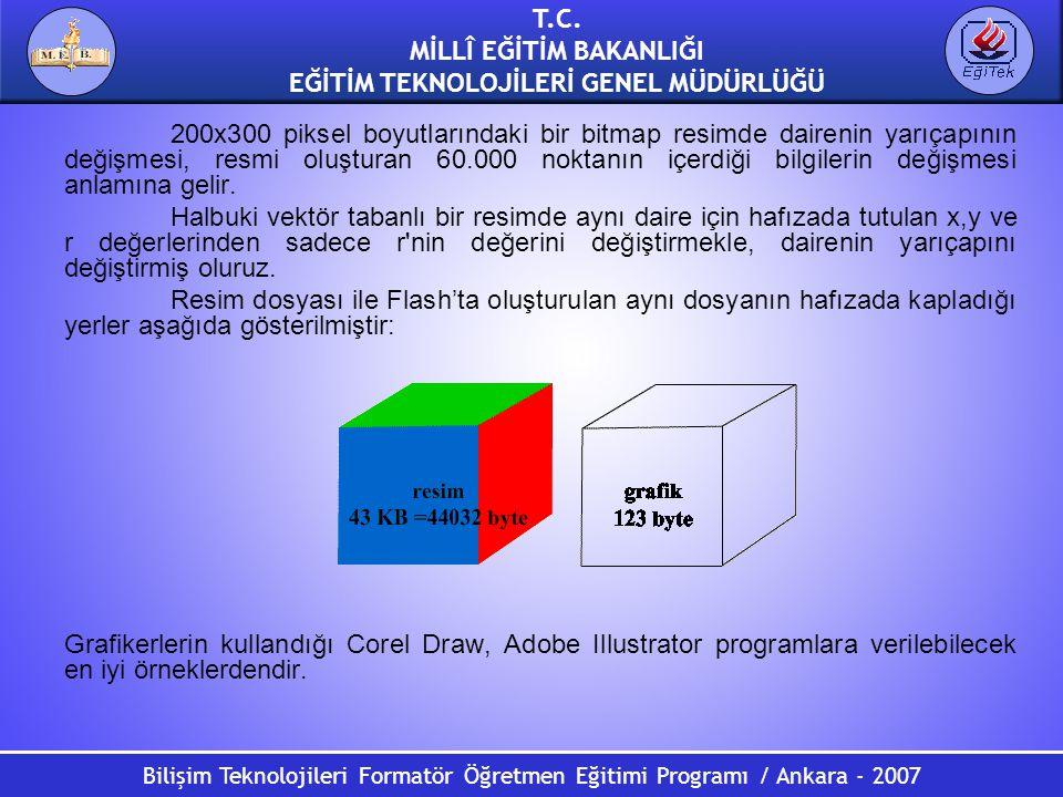 Bilişim Teknolojileri Formatör Öğretmen Eğitimi Programı / Ankara - 2007 T.C. MİLLÎ EĞİTİM BAKANLIĞI EĞİTİM TEKNOLOJİLERİ GENEL MÜDÜRLÜĞÜ 200x300 piks