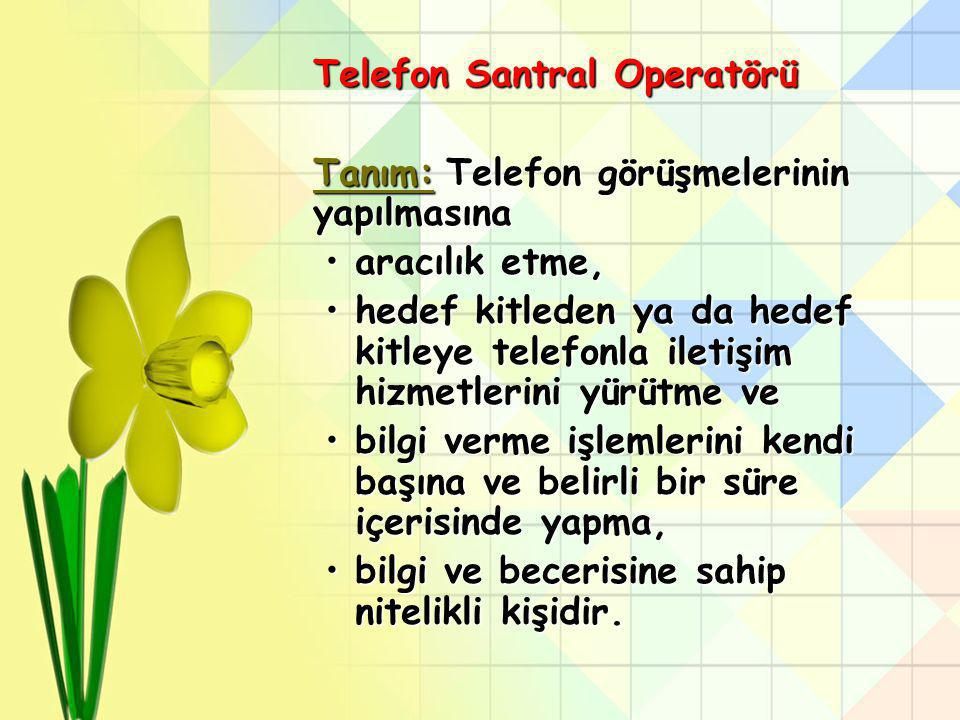 Santral Operatörleri Etkili İletişim Eğitimi Yrd.Doç.Dr.Emel GÜLER YILMAZ emelguleryilmaz@gmail.com