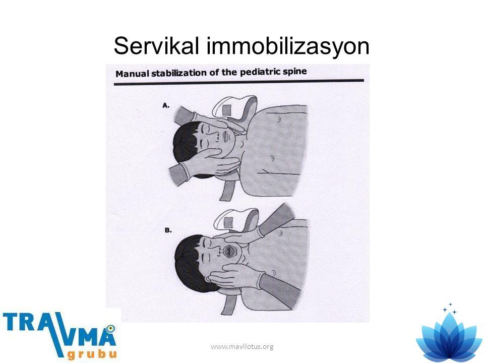 Servikal immobilizasyon www.mavilotus.org