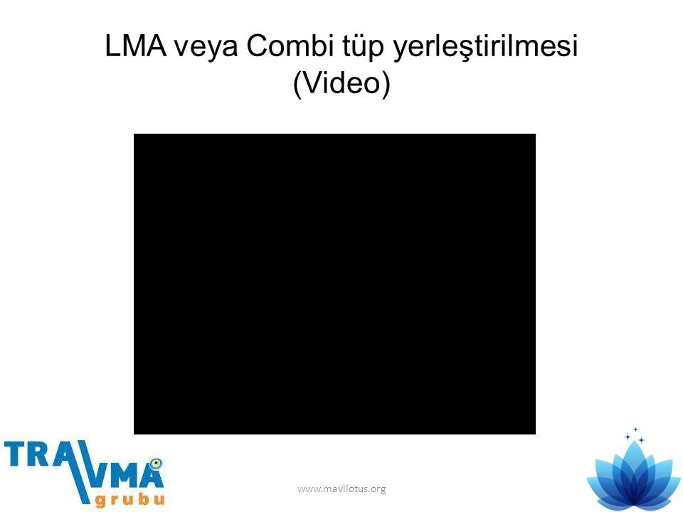 LMA veya Combi tüp yerleştirilmesi (Video) www.mavilotus.org