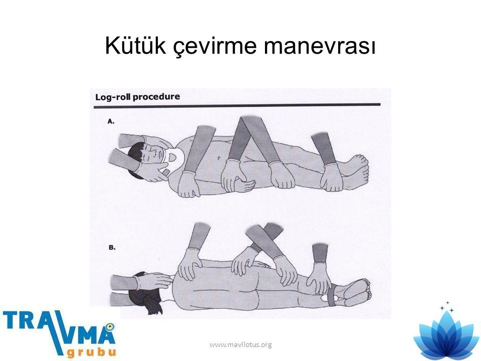 Kütük çevirme manevrası www.mavilotus.org