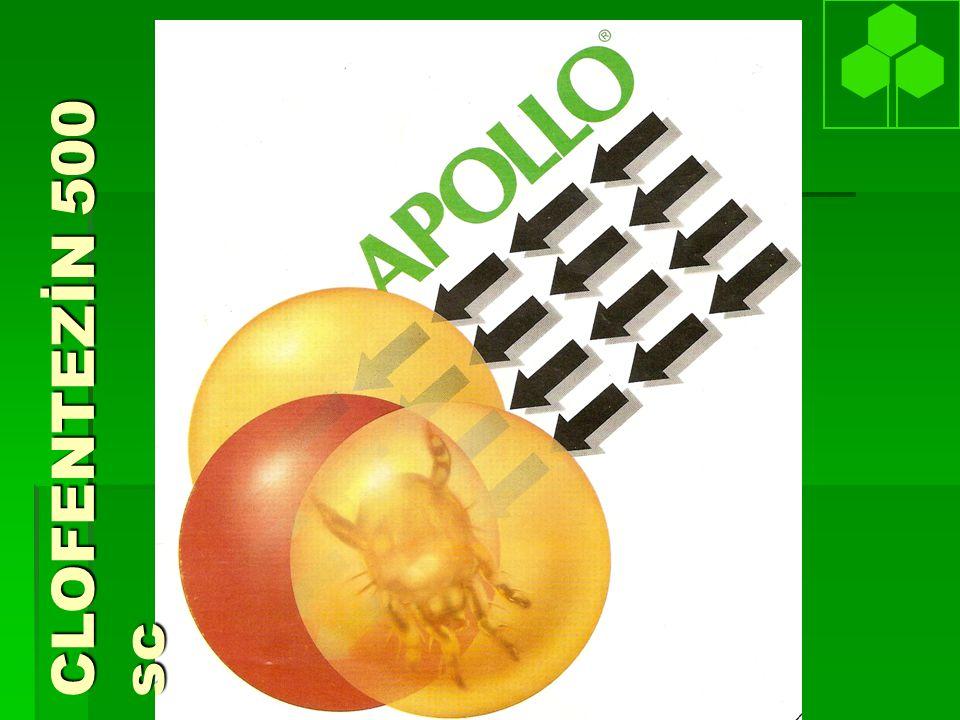 APOLLO IPM and Çevre  Kullanıcıya zararsız  Çevreye zararsız  Hava durumuna dayanıklı: Kuruduktan sonra yağmura dayanıklı.