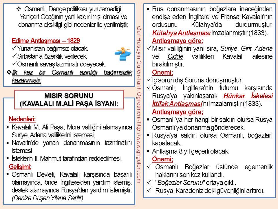  Tanzimat Fermanı'nın Özellikleri:  I.