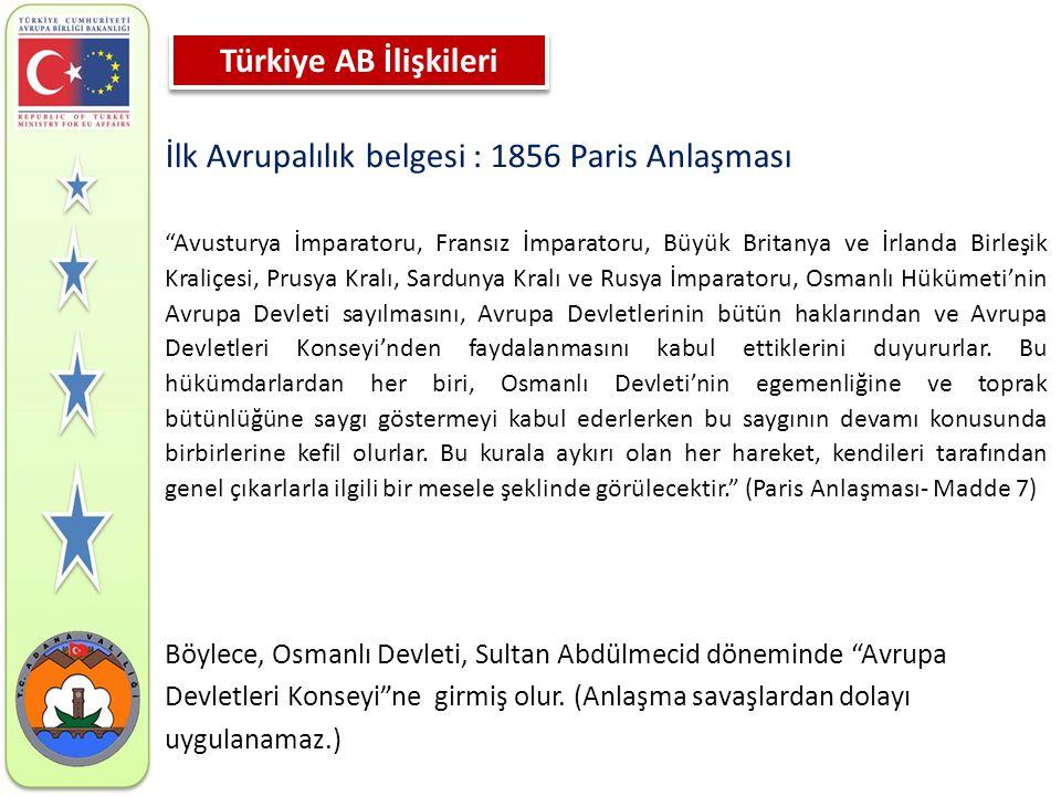 1959 • 31 Temmuz : Türkiye, AET ye ortaklık için başvurdu.