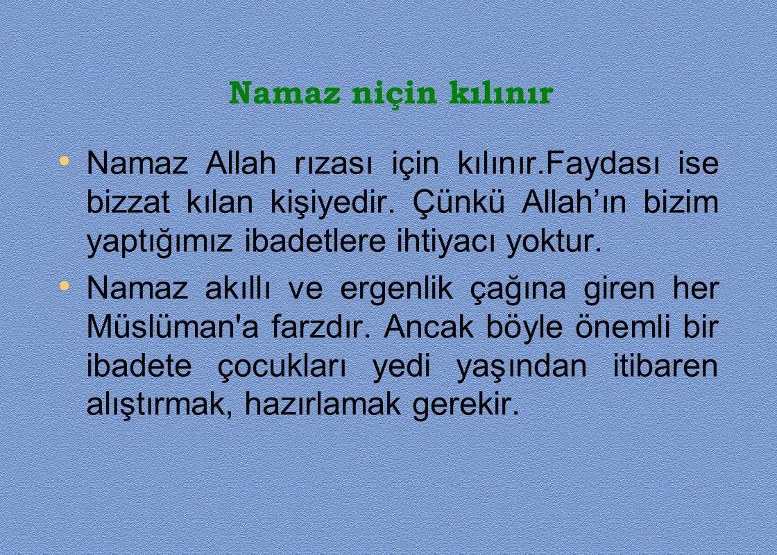 CUMA NAMAZI • Cuma günü Müslümanların haftalık bayramıdır.