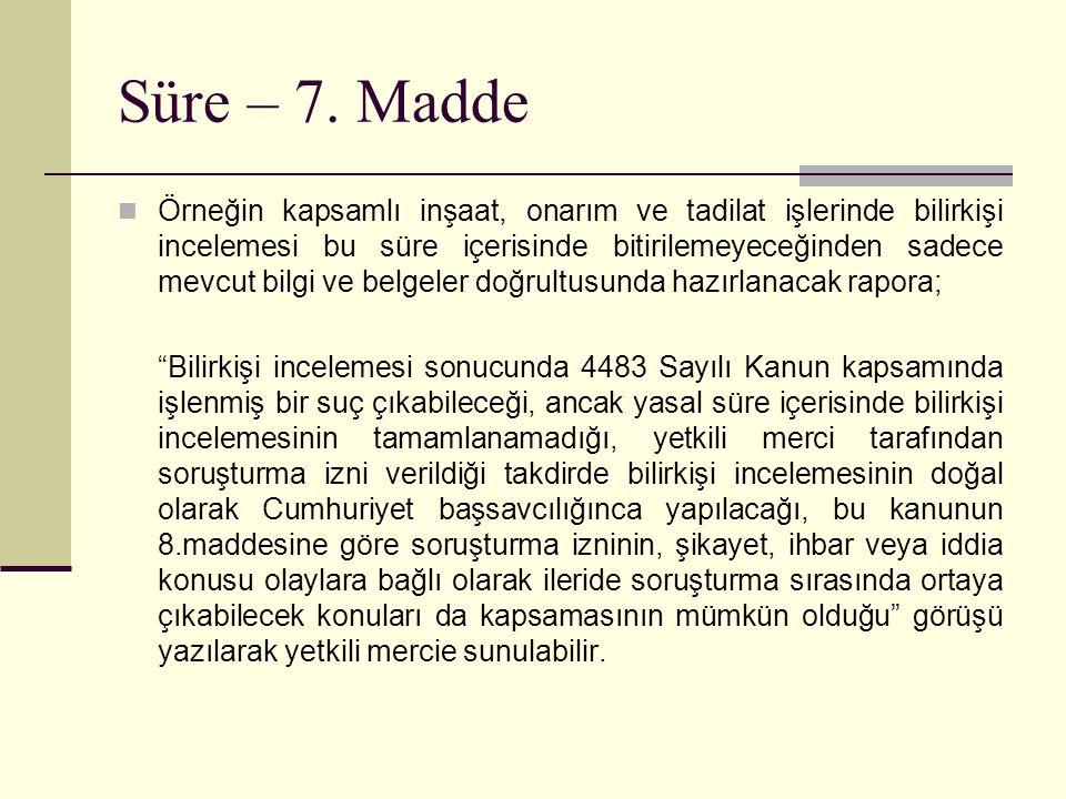 Süre – 7.