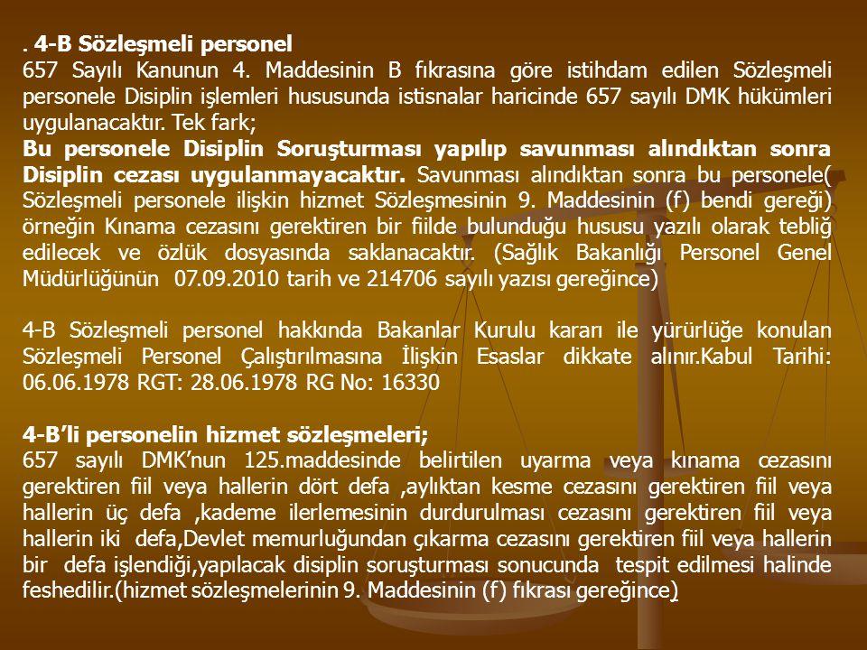 KONU İLE İLGİLİ ÖRNEK DANIŞTAY KARARLARI 1.