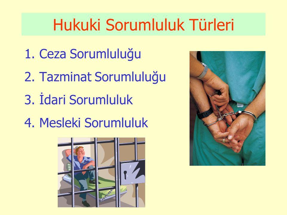 Devletin Tazminat Borcu •Zarar, kamu görevi ile ilgili olmalı, yani sağlık çalışanı memurun görevi sebebiyle ortaya çıkmış olmalıdır.