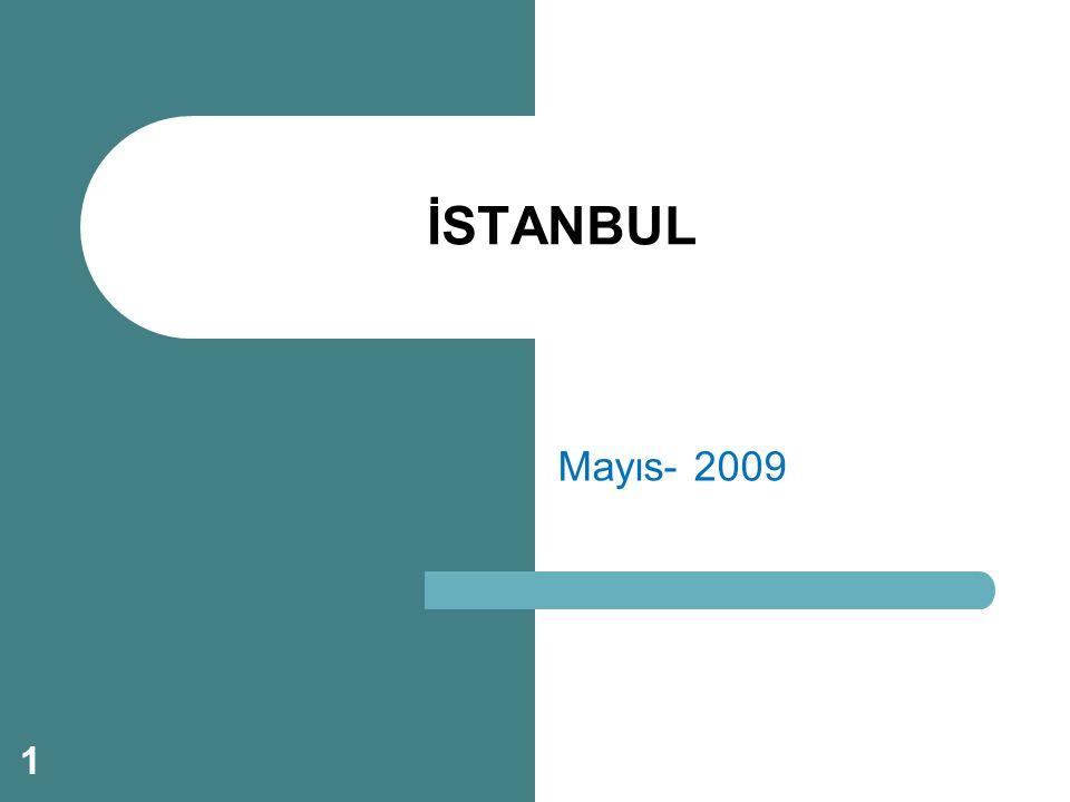 Mayıs- 2009 İSTANBUL 1