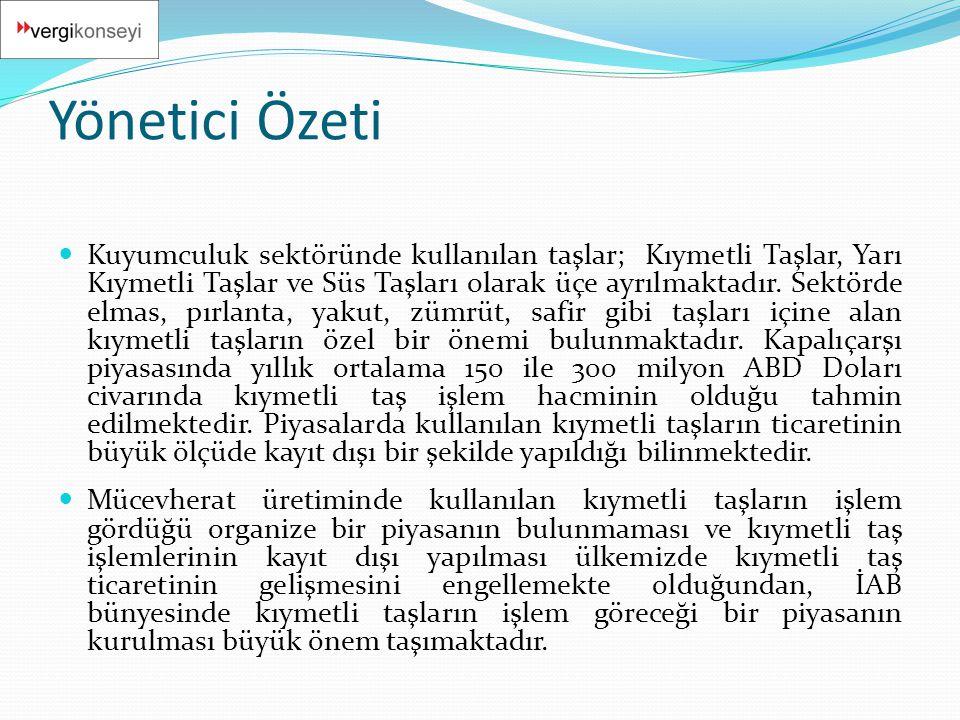  Bu çerçevede, Bankaların, özel finans kurumlarının ve yetkili müesseselerin oluşturulacak piyasada işlem yapabilmeleri için; Bankalar Kanunu, Bankaların Kuruluş ve Faaliyetleri Hakkında Yönetmelik, Özel Finans Kurumlarının Kuruluş ve Faaliyetleri Hakkında Yönetmelik ve Türk Parası Kıymetini Korumu Hakkında 32 Sayılı Karara İlişkin 2002-32/27 Sayılı Tebliğ'de değişiklikler yapılması gerekmektedir.