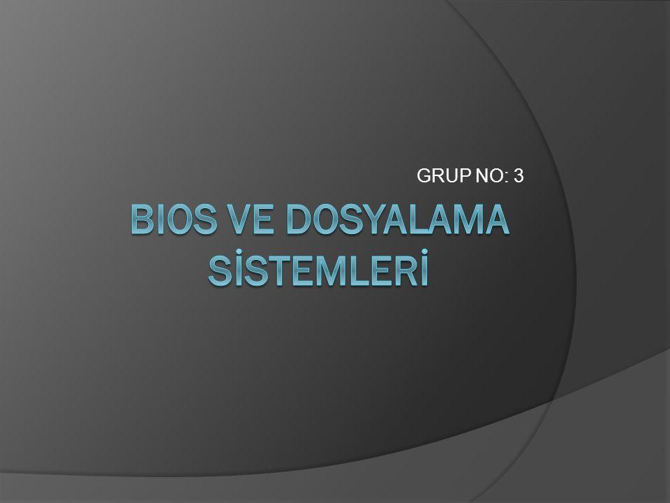 GRUP NO: 3