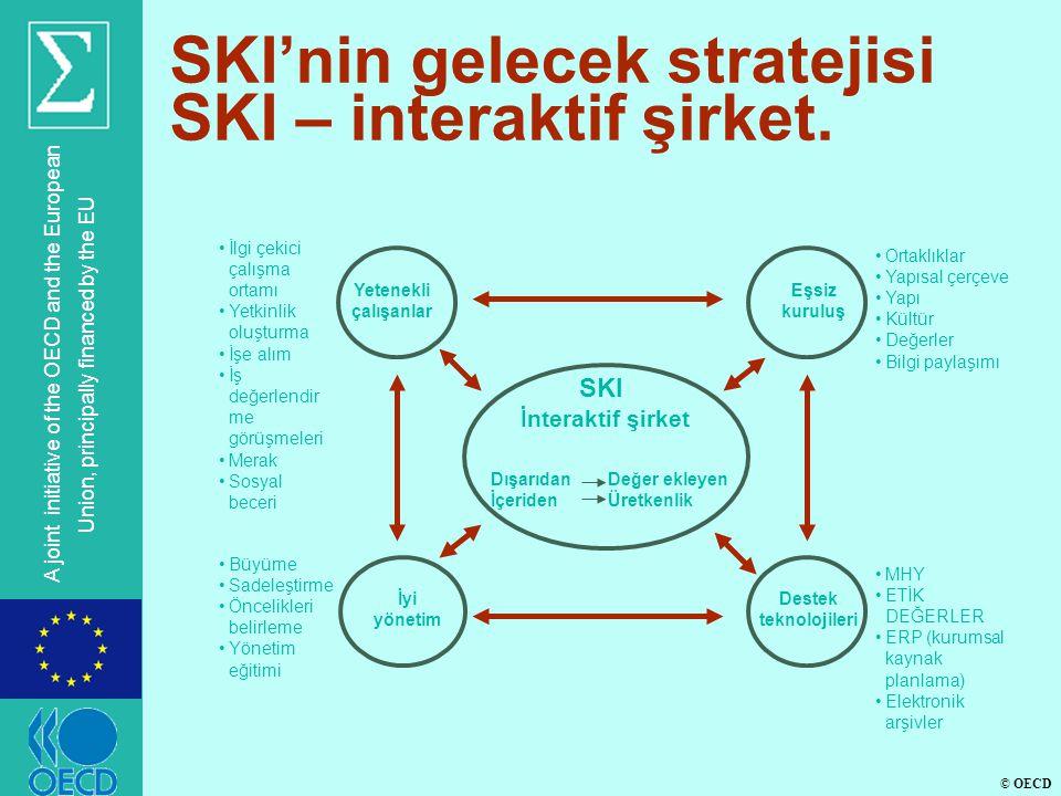 © OECD A joint initiative of the OECD and the European Union, principally financed by the EU SKI'nin gelecek stratejisi SKI – interaktif şirket.