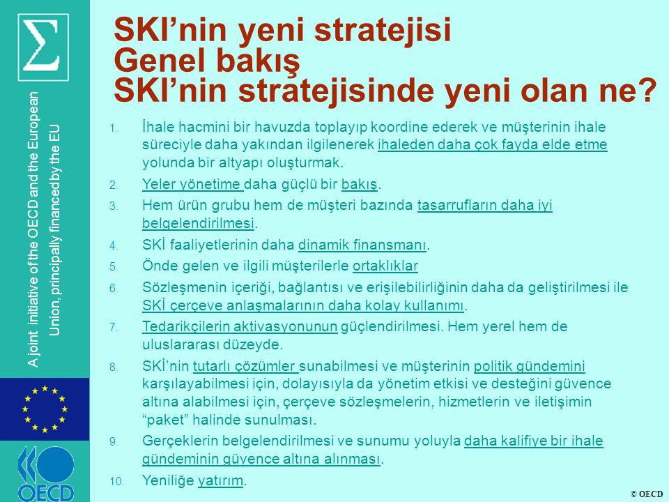 © OECD A joint initiative of the OECD and the European Union, principally financed by the EU SKI'nin yeni stratejisi Genel bakış SKI'nin stratejisinde yeni olan ne.