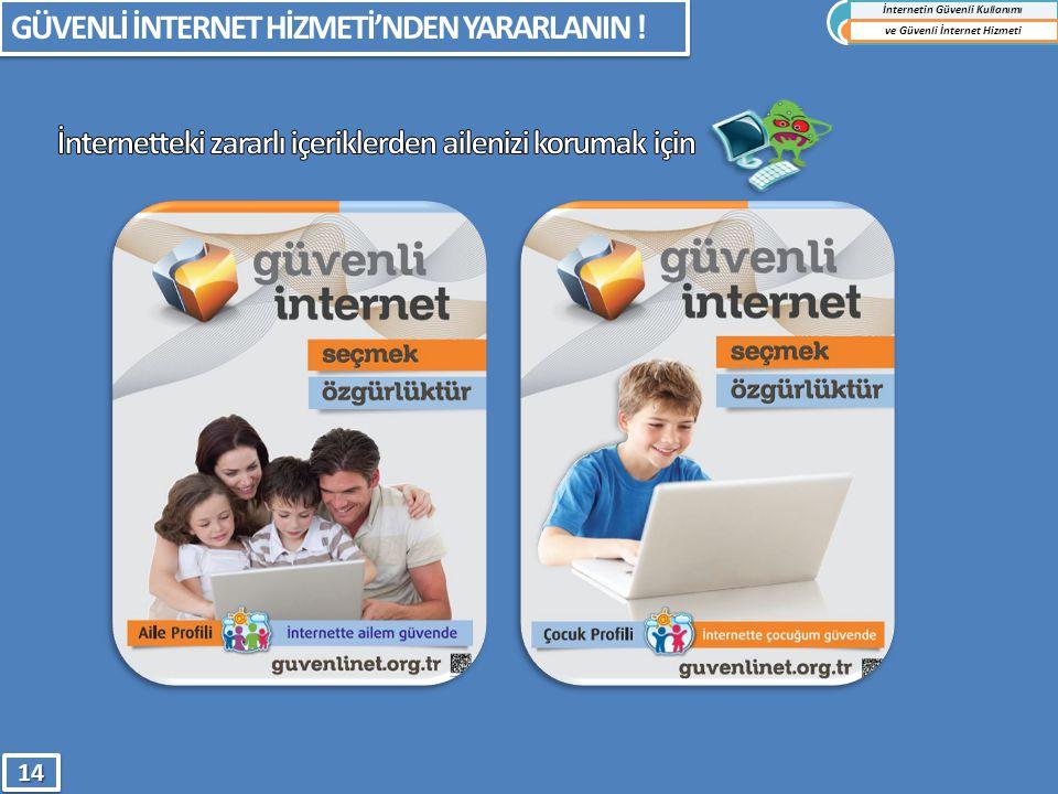 GÜVENLİ İNTERNET HİZMETİ'NDEN YARARLANIN ! İnternetin Güvenli Kullanımı ve Güvenli İnternet Hizmeti1414