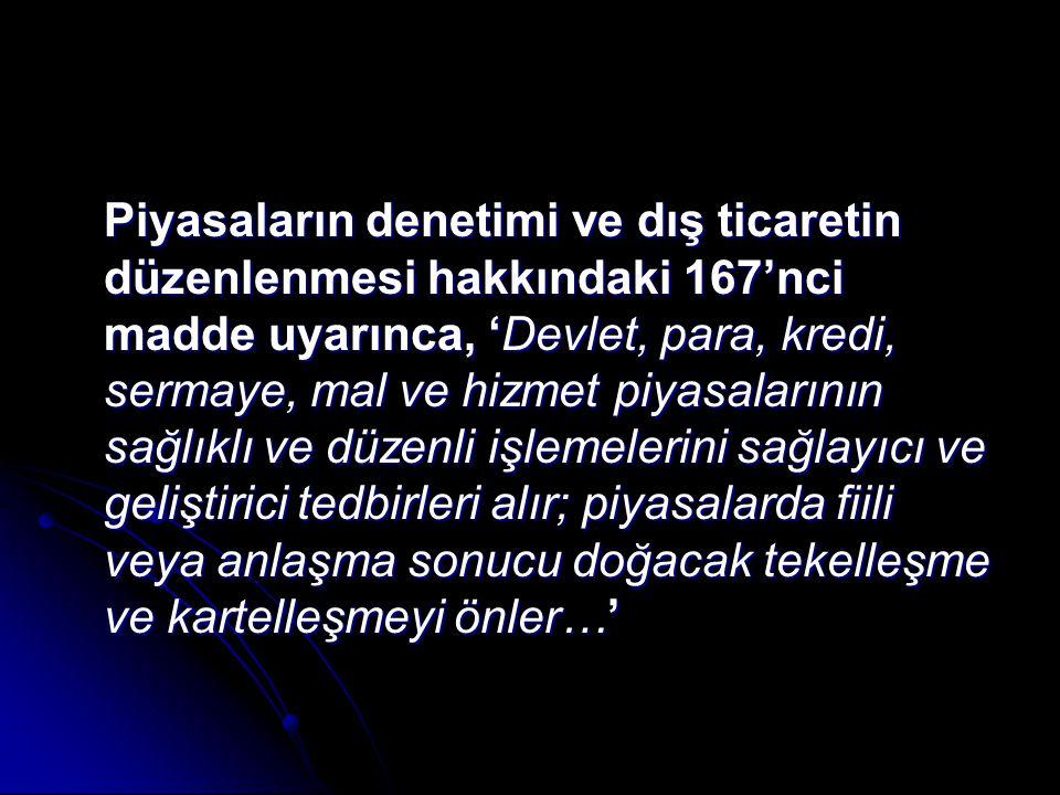 Değerlendirme Rekabet Politikası faslına ilişkin tarama raporu 2006 yılında Türkiye'ye gönderilmiş ve Rekabet Kurumu'nun sorumluluk alanına giren anti-tröst kuralları ve birleşme/devralmalar alanında Türkiye'nin kurumsal kapasite, mevzuat ve uygulama bakımından tatmin edici bir uyum seviyesinde olduğu ve ilgili faslın müzakereye açılması önünde bu alan bakımından bir engel bulunmadığı ifade edilirken Rekabet Politikası faslının müzakereye açılması devlet yardımlarının izlenmesi ve denetlenmesi ile Türk demir-çelik sektörünün yeniden yapılandırılmasına ilişkin bir dizi koşula bağlanmıştır.