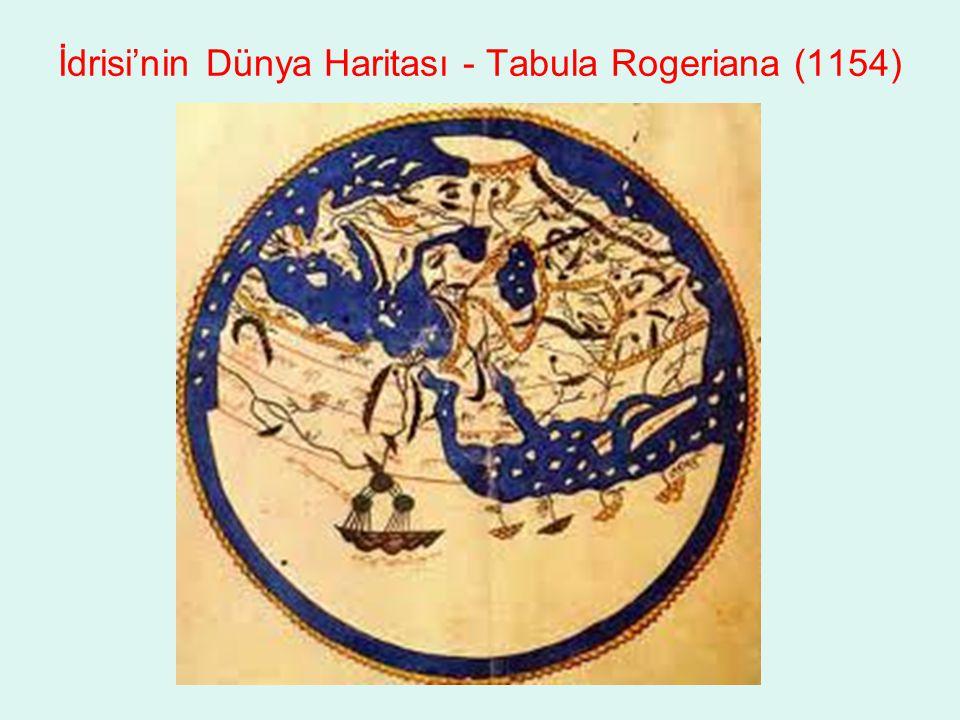 İdrisi'nin Dünya Haritası - Tabula Rogeriana (1154)