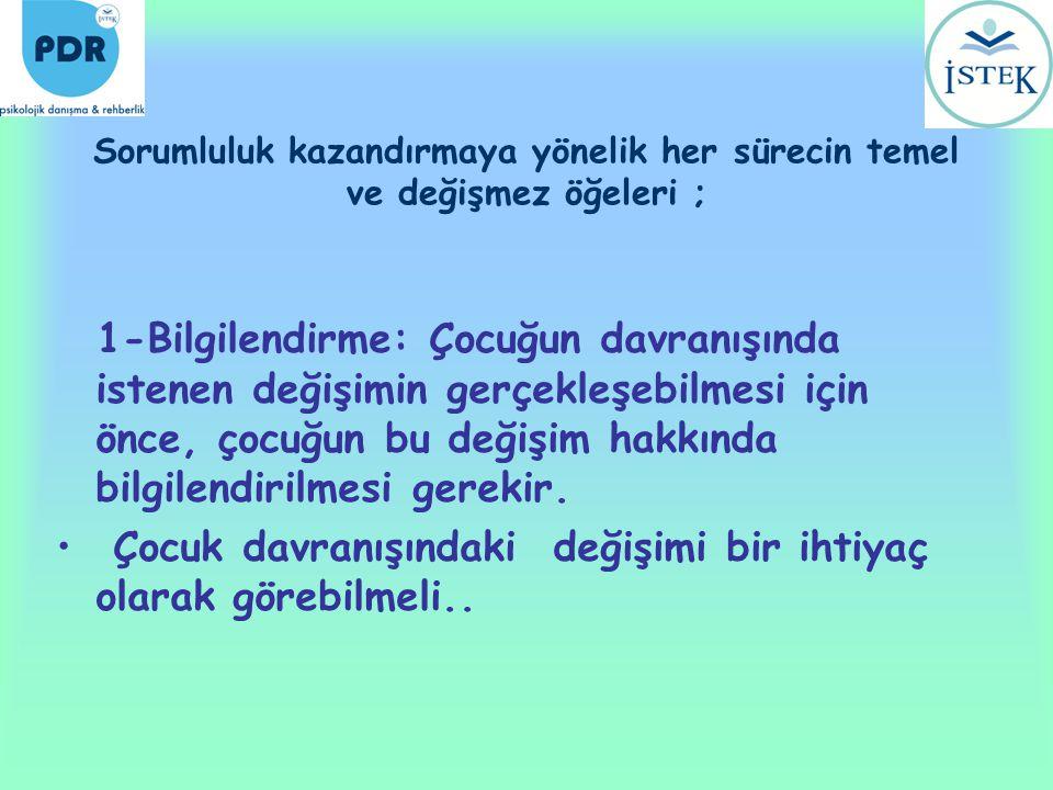 KAYNAKÇA •Civelek, B., 2-10 Yaş Çocuklar İçin Hayatı Kolaylaştıran Temel Alışkanlıklar, Epsilon Yayınları, Temmuz 2008, İstanbul.