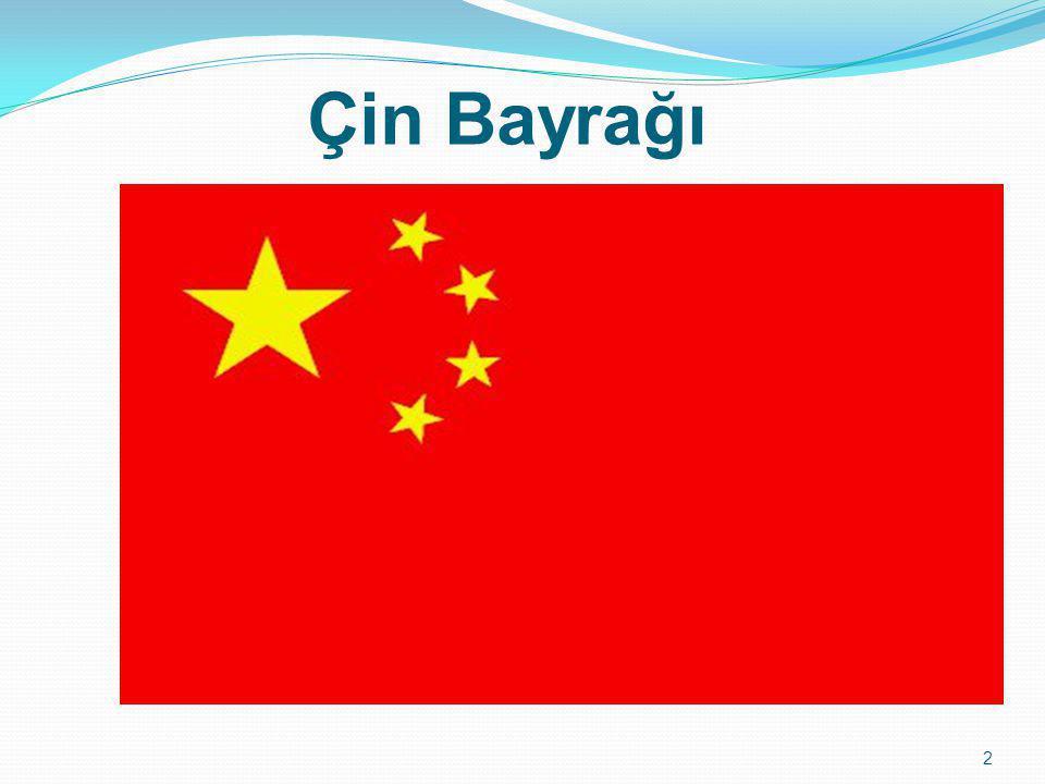 Çin Bayrağı 2