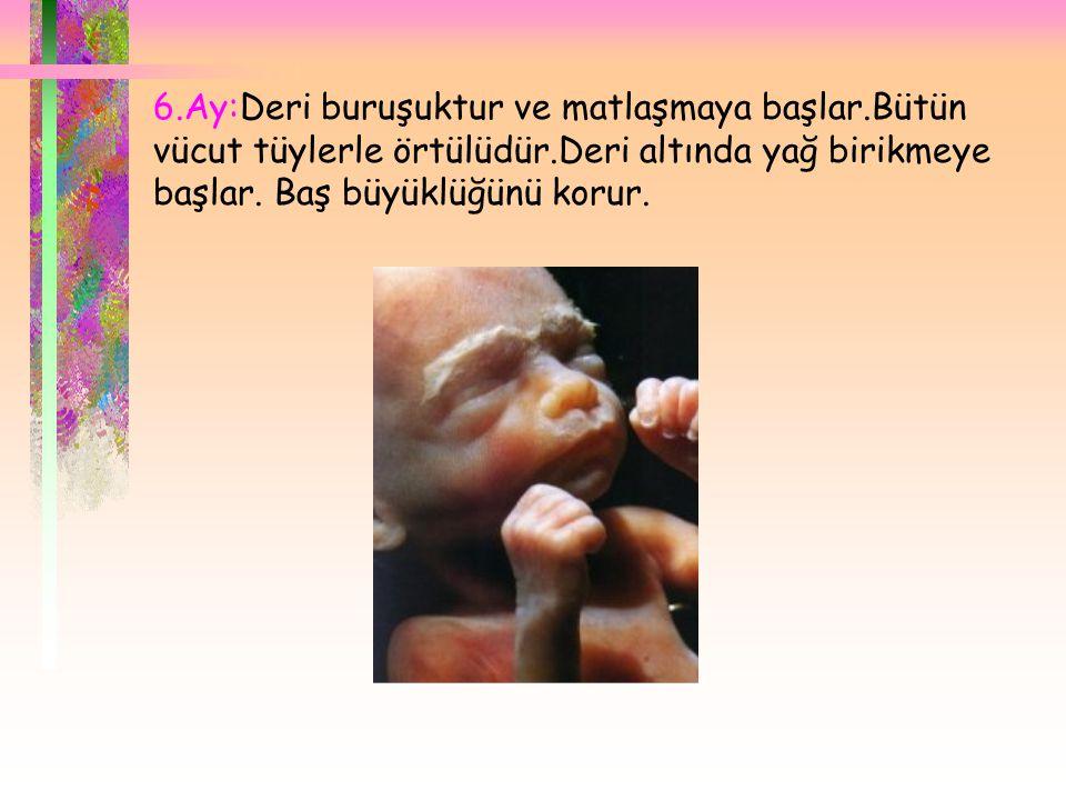  * 0 - 12 ay çocukların üçer aylık dönemlerde tartı artışı aylık, boy artışı 3 aylık artış olarak belirtilmiştir.