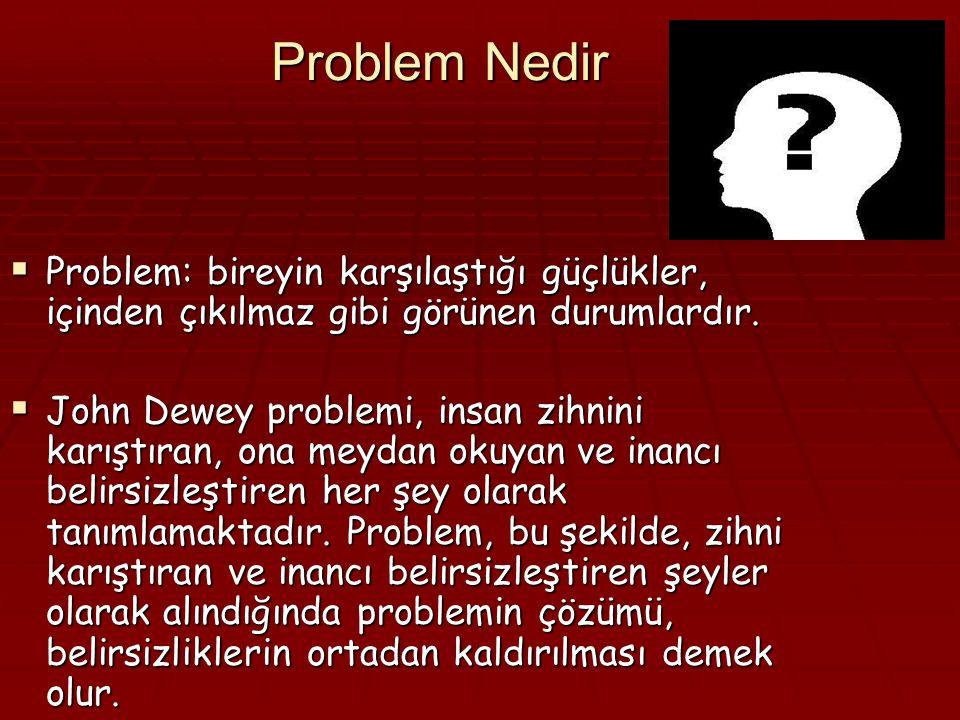 Probleme Dayalı Öğrenme (PDÖ) (Problem-Based Learning) Yard.